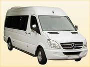 Микроавтобусы в Алматы 18 местные развозка персонала сотрудников работ