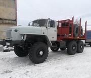 Продам Лесовоз Урал 43204 с новой площадкой