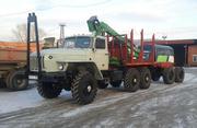 Продам Лесовоз Урал 43204 с манипулятором Атлант-С 90
