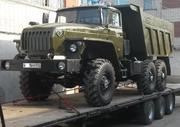 Продам а/м Урал 55571 самосвал с задней разгрузкой (совок)