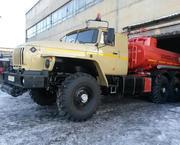 Топливозаправщик Урал АТЗ-10 на усиленном длиннобазовом шасси