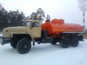 Автотопливозаправщик  АТЗ-10 на шасси Урал без пробега